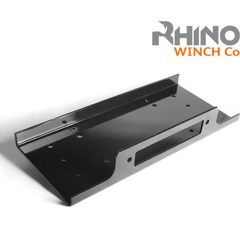 Rhino - Winch Mounting Plate for Heavy Duty 17500lb - 20000lb 4x4 Off Road