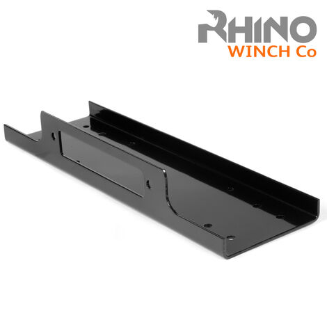 Rhino - Winch Mounting Plate Tray Compact Heavy Duty - 8000lb to 15000lb 4x4