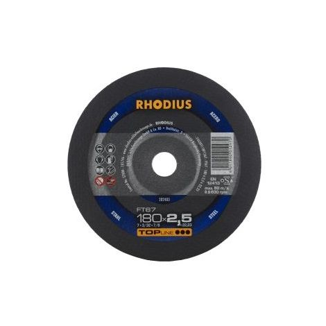 RHODIUS Trennscheibe extradünn 180 x 1,5 x 22,2 mm gerade