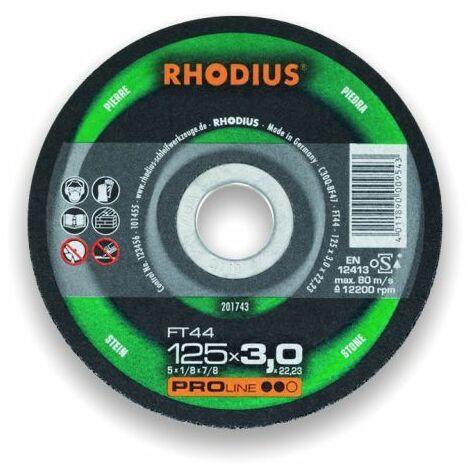 Rhodius Trennscheibe ProLine FT 44 180 x 3,0 x 22,23, für Stein