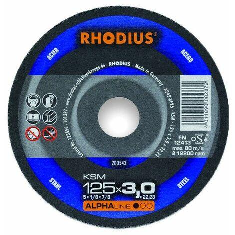 Rhodius Trennscheiben KSMK 230 x 3,0 x 22,23 mm für Stahl 10 Stück