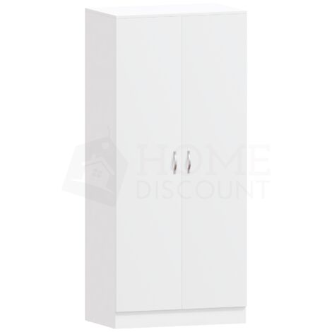 Riano 2 Door Wardrobe, White