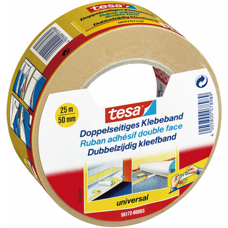 Ribbon Adhesive Dual-Sided 56172 25Mx50Mm (By 6)