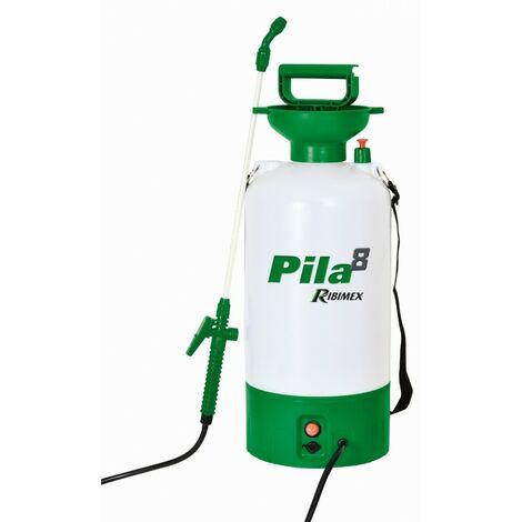 Ribiland - Pulverizador 8L con batería de 12V 1.3A PILA8 - PRP081E