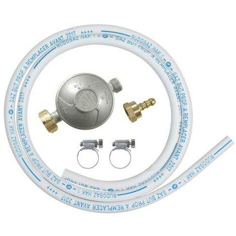 Ribitech - Kit regulador de presión de gas con manguera Ø 6x12 - DG170TC75/B