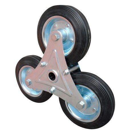 """main image of """"Ricambio ruota multipla per carrello per scale - Salone"""""""