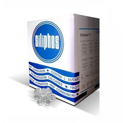 Ricariche per filtro anticalcare polifosfato Silifos Sferico 25 Kg Spadeitalia