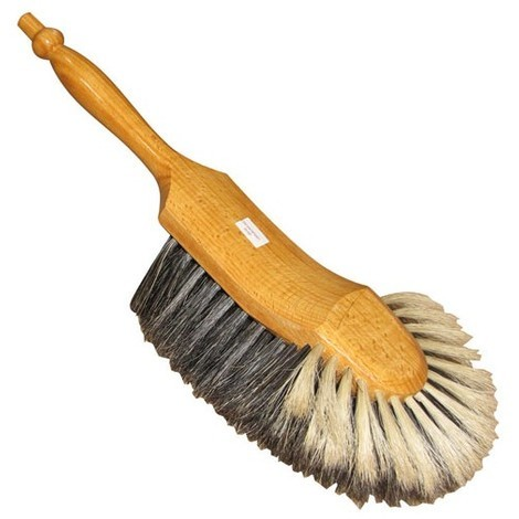 RICHIR - Balayette 1/2 tête - fibres en soie grise : 52 mm