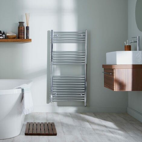 Richmond Thermostatic Chrome Electric Towel Rail (Various Sizes Available)