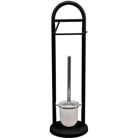 RIDDER 2-in-1 Stand-WC-Garnitur Unique Schwarz