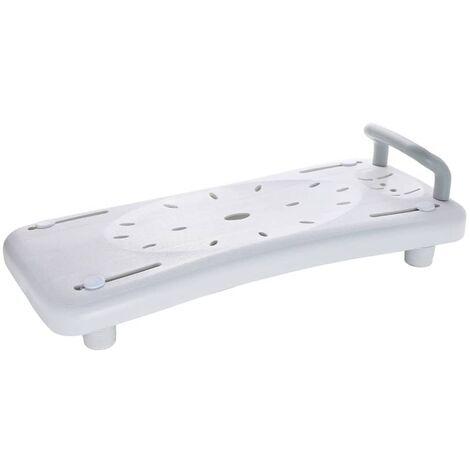RIDDER Badewannenbrett Badewannensitz mit Haltegriff Weiß A0040101