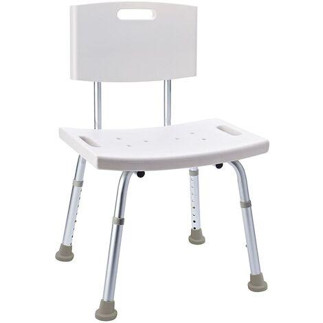 RIDDER Bathroom Chair White 100 kg A00602101