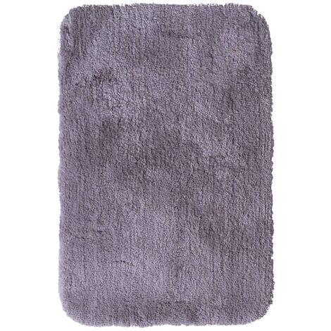 RIDDER Bathroom Rug Chic Grey 90x60 cm - Grey