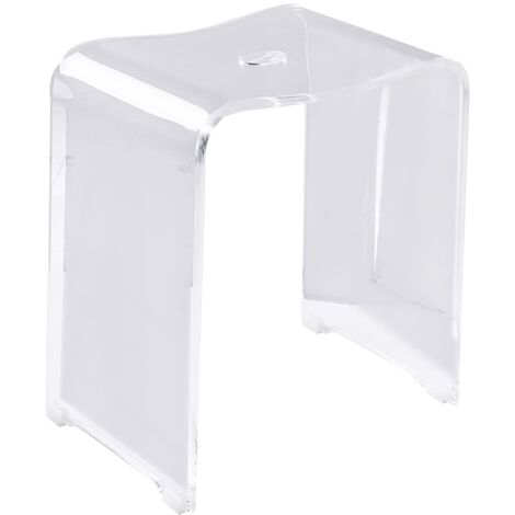 RIDDER Bathroom Stool Trendy Transparent