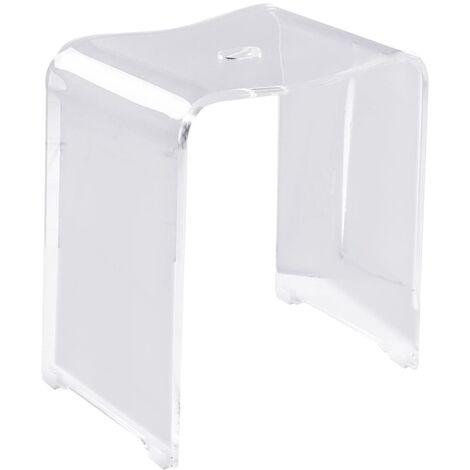 RIDDER Bathroom Stool Trendy Transparent - Transparent