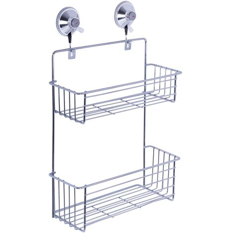 RIDDER Bathroom Suction Cup Shower Caddy Set