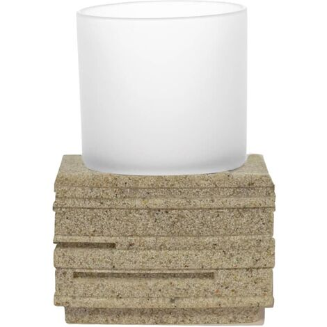 RIDDER Bathroom Tumbler Brick Ecru
