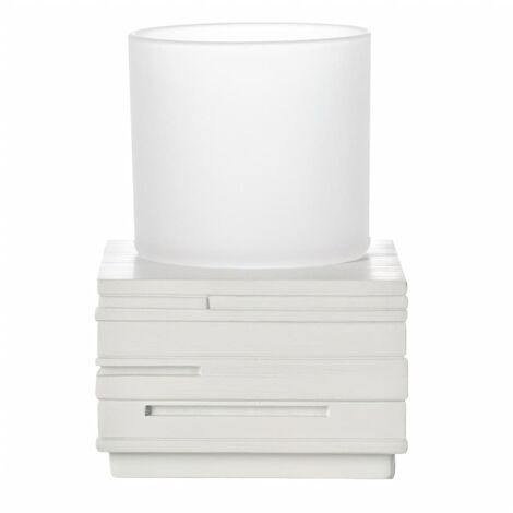 RIDDER Bathroom Tumbler Brick White