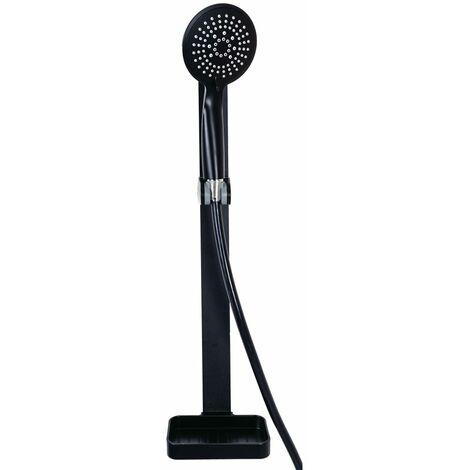RIDDER Conjunto de ducha Rosario negro - Negro