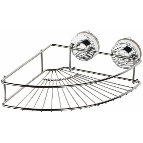 RIDDER Corner Shower Shelf 24.9x24.9x9.4 cm Chrome 12020000