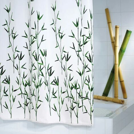 RIDDER Cortina de ducha Bambus 180x200 cm