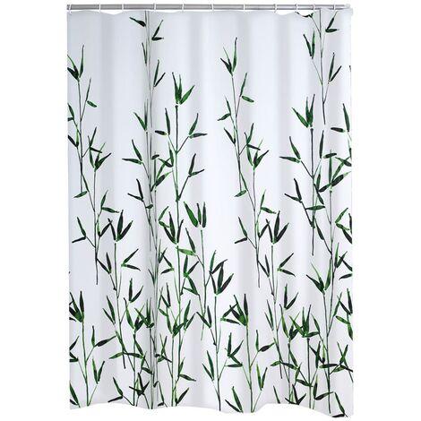 RIDDER Cortina de ducha Bambus 180x200 cm - Verde