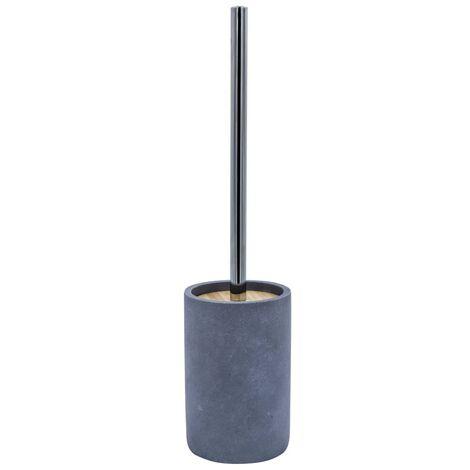 RIDDER Escobilla de inodoro con portaescobillas cemento gris
