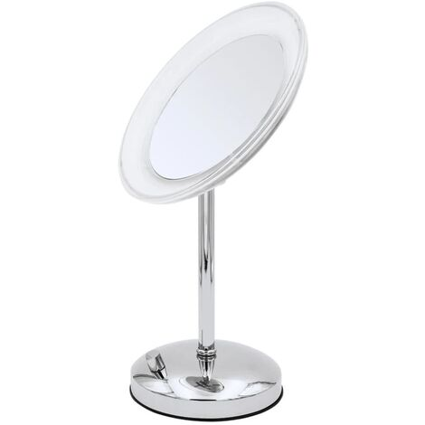 RIDDER Espejo de maquillaje para tocador Tiana con LED