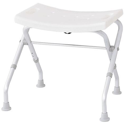RIDDER Folding Bathroom Stool 150 kg White A0050301