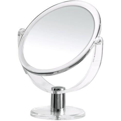 RIDDER Free Standing Make-Up Mirror Kida 13.5 cm - Transparent