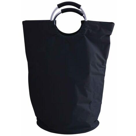 RIDDER Laundry Basket 65L Black - Black