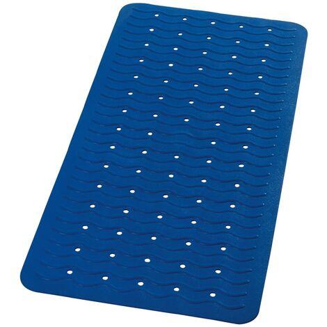 RIDDER Non-Slip Bath Mat Playa 80x38 cm Neon-Blue 68303 - Blue