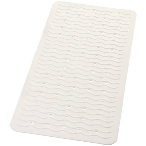 RIDDER Non-Slip Bath Mat Playa 80x38 cm White 68301