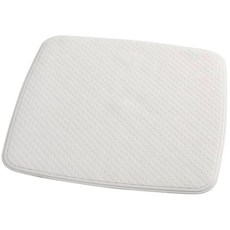 RIDDER Non-Slip Shower Mat Capri 54x54 cm White 66281