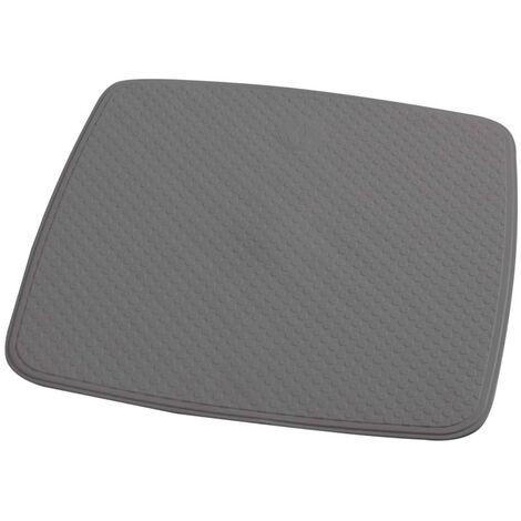RIDDER Non-slip Shower Mat Capri Cement Grey 54x54 cm
