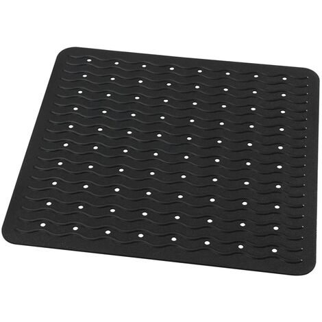 RIDDER Non-Slip Shower Mat Playa 54x54 cm Black 68410