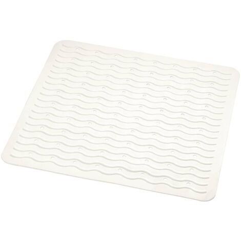 RIDDER Non-Slip Shower Mat Playa 54x54 cm White 68401
