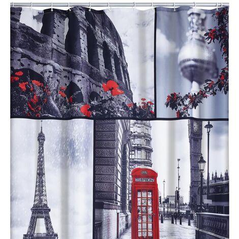 RIDDER Shower Curtain Attractions 180x200 cm