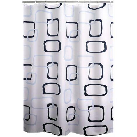 RIDDER Shower Curtain Geo Textile - Multicolour