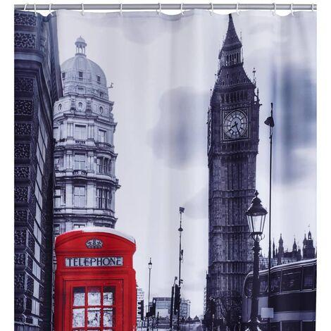 RIDDER Shower Curtain London 180x200 cm