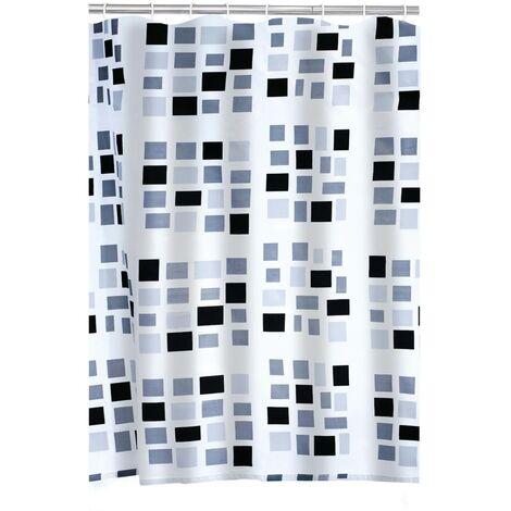 RIDDER Shower Curtain Stones Textile