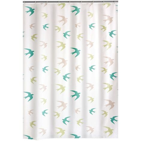 """main image of """"RIDDER Shower Curtain Swallow 180x200 cm - Multicolour"""""""
