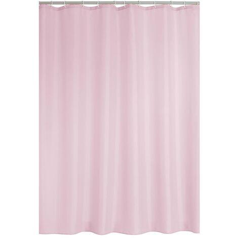 RIDDER Shower Curtain Textile Madison Pink - Pink