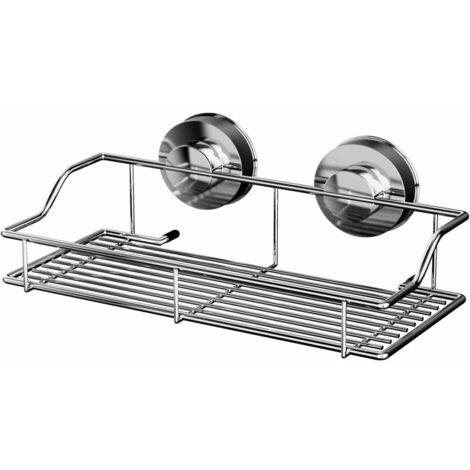 RIDDER Shower Shelf 25x9.5x14.2 cm Chrome 12010000
