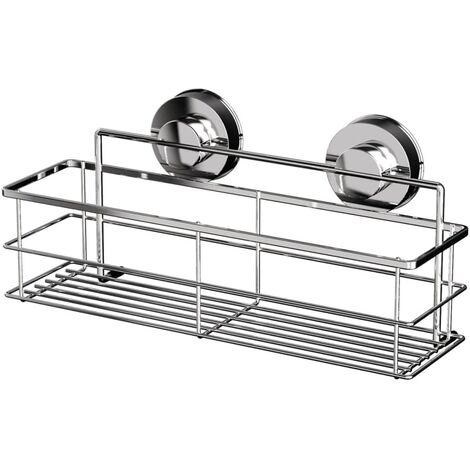 RIDDER Shower Shelf 30.5x12.4x14 cm Chrome 12010200