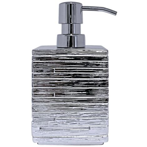 RIDDER Soap Dispenser Brick Silver - Silver