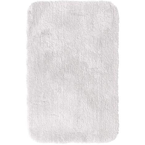 RIDDER Tapis de salle de bain Chic Blanc 90 x 60 cm