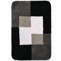 RIDDER Tapis de salle de bains Coins 60 x 90 cm Gris 7103307