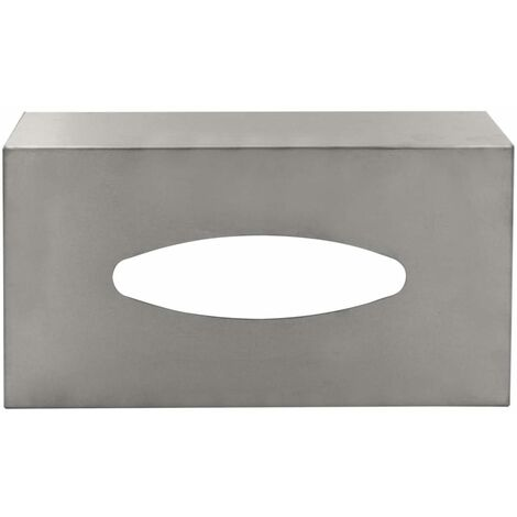 RIDDER Tissue Box Classic Matt - Silver
