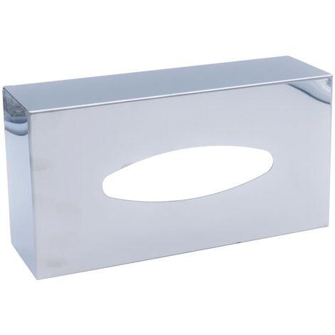 RIDDER Tissue Box Classic Polished - Silver